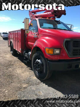 2000 Ford F-650 Super Duty for sale at Motorsota in Becker MN