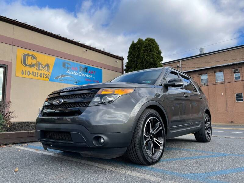 2015 Ford Explorer for sale at Car Mart Auto Center II, LLC in Allentown PA