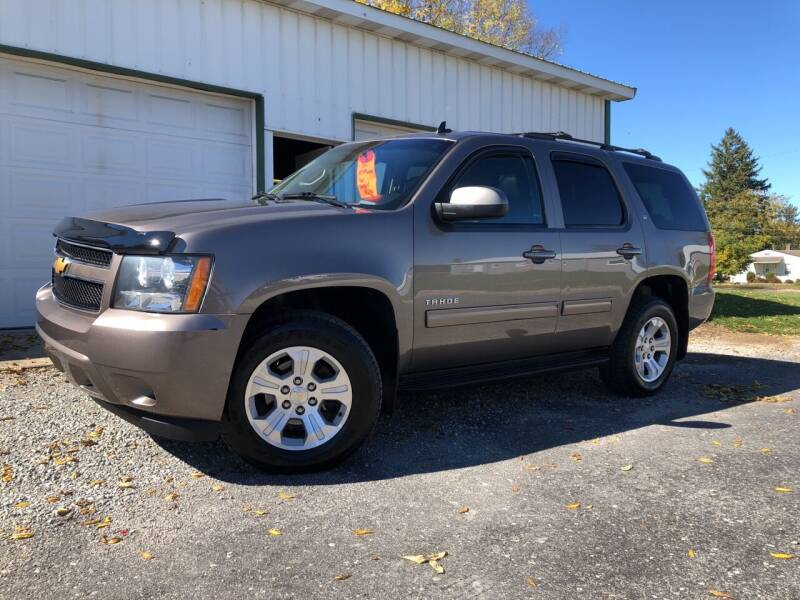 2014 Chevrolet Tahoe for sale at Purpose Driven Motors in Sidney OH