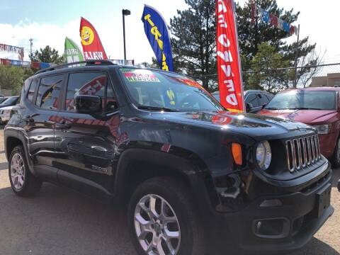 2015 Jeep Renegade for sale at Duke City Auto LLC in Gallup NM