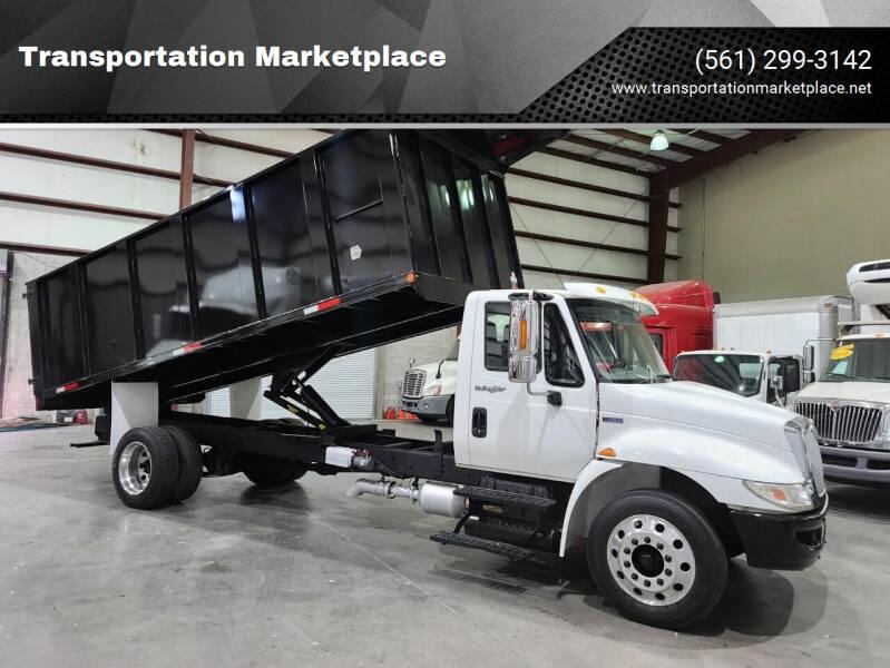 2012 International DuraStar 4300 for sale at Transportation Marketplace in West Palm Beach FL