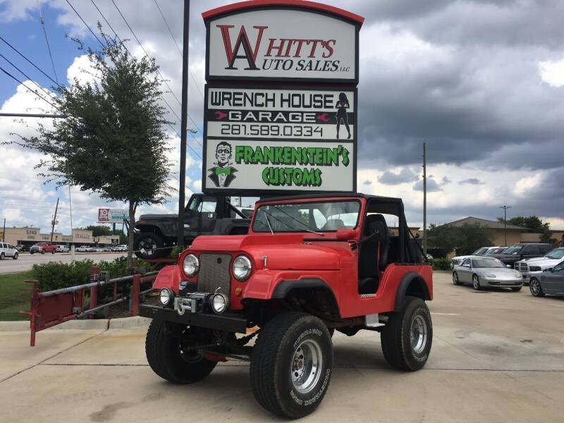 1966 Jeep Wrangler for sale at WHITT'S AUTO SALES, LLC in Houston TX