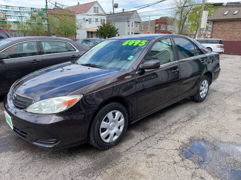 2003 Toyota Camry for sale at Barnes Auto Group in Chicago IL