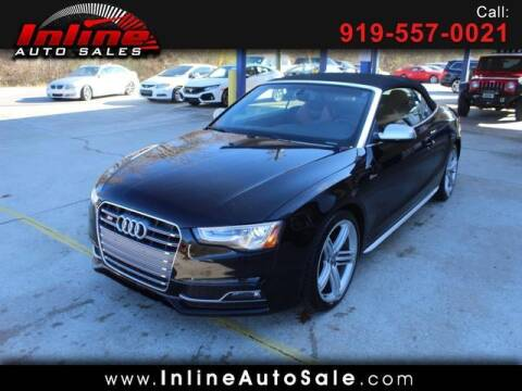 2013 Audi S5 for sale at Inline Auto Sales in Fuquay Varina NC