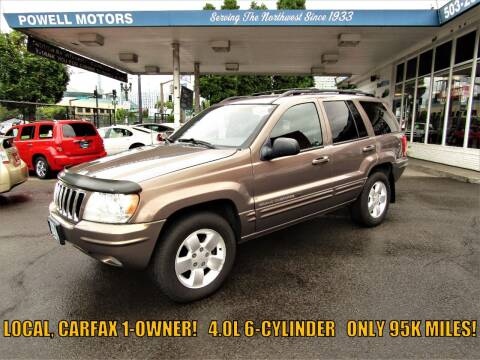 2001 Jeep Grand Cherokee for sale at Powell Motors Inc in Portland OR