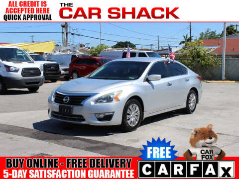 2015 Nissan Altima for sale at The Car Shack in Hialeah FL