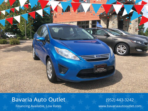 2013 Ford Fiesta for sale at Bavaria Auto Outlet in Victoria MN