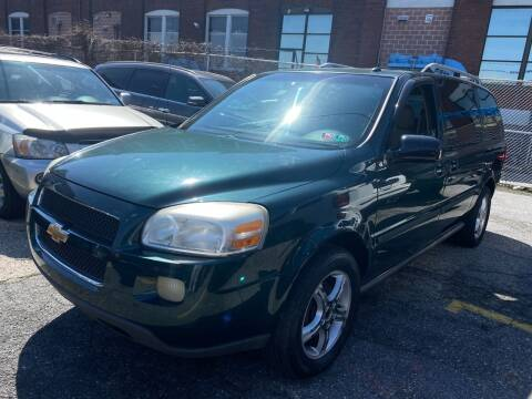 2005 Chevrolet Uplander for sale at The PA Kar Store Inc in Philladelphia PA