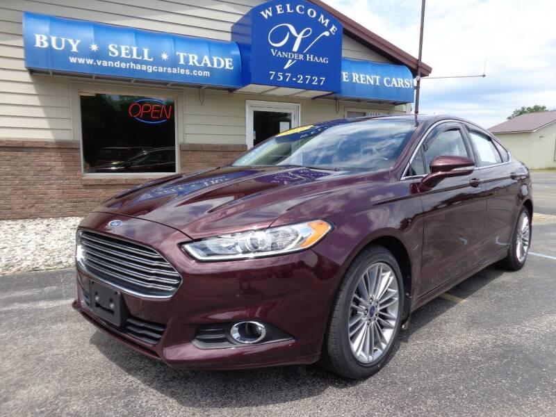 2013 Ford Fusion for sale at VanderHaag Car Sales LLC in Scottville MI