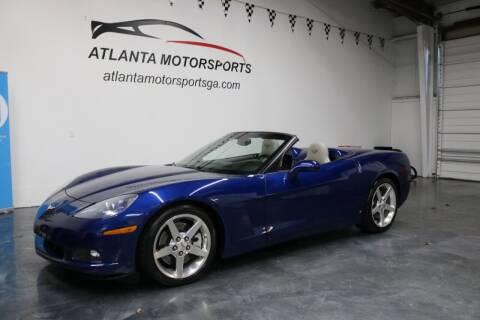 2006 Chevrolet Corvette for sale at Atlanta Motorsports in Roswell GA