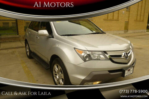 2009 Acura MDX for sale at A1 Motors Inc in Chicago IL