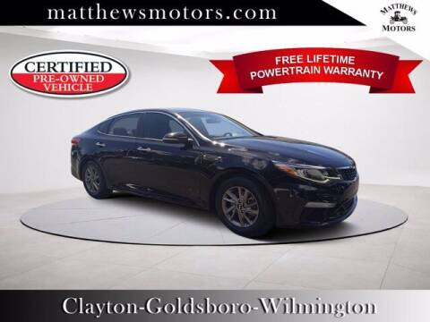 2019 Kia Optima for sale at Auto Finance of Raleigh in Raleigh NC