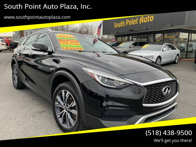 2017 Infiniti QX30 for sale at South Point Auto Plaza, Inc. in Albany NY