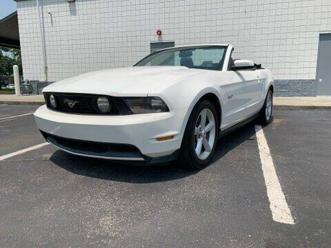 2011 Ford Mustang for sale at Mayflower Motor Company in Rome GA
