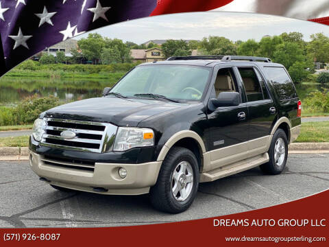 2007 Ford Expedition for sale at Dreams Auto Group LLC in Sterling VA