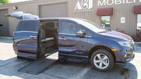 2019 Honda Odyssey for sale at A&J Mobility in Valders WI