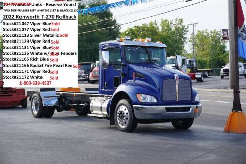 2022 Kenworth T270 Rollback for sale at Ricks Auto Sales, Inc. in Kenton OH