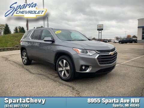 2018 Chevrolet Traverse for sale at Sparta Chevrolet in Sparta MI