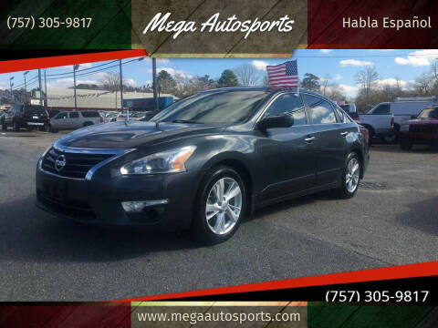 2013 Nissan Altima for sale at Mega Autosports in Chesapeake VA