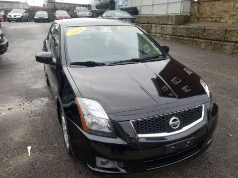2010 Nissan Sentra for sale at Fortier's Auto Sales & Svc in Fall River MA