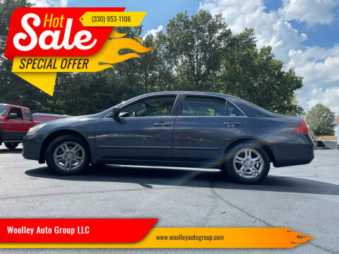 2007 Honda Accord for sale at Woolley Auto Group LLC in Poland OH