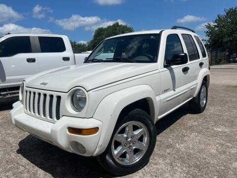 2004 Jeep Liberty for sale at TWIN CITY MOTORS in Houston TX