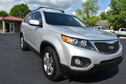 2012 Kia Sorento for sale at JE AUTO SALES LLC in Webb City MO