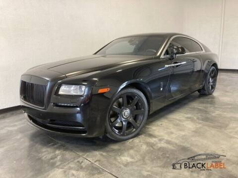 2014 Rolls-Royce Wraith for sale at BLACK LABEL AUTO FIRM in Riverside CA