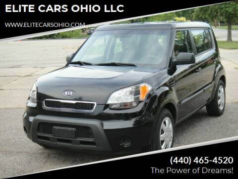 2011 Kia Soul for sale at ELITE CARS OHIO LLC in Solon OH