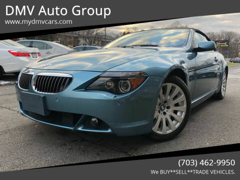 2005 BMW 6 Series for sale at DMV Auto Group in Falls Church VA