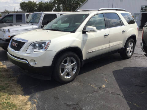 2008 GMC Acadia for sale at Autos Unlimited, LLC in Adrian MI