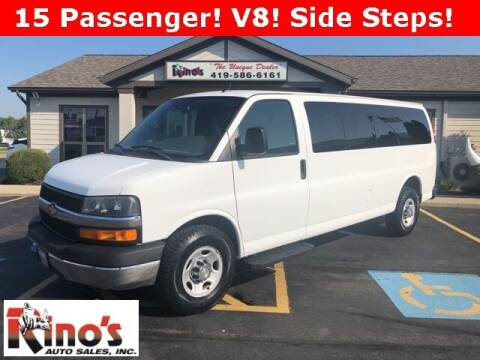 2014 Chevrolet Express Passenger for sale at Rino's Auto Sales in Celina OH