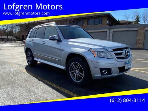 2010 Mercedes-Benz GLK for sale at Lofgren Motors in Wayzata MN