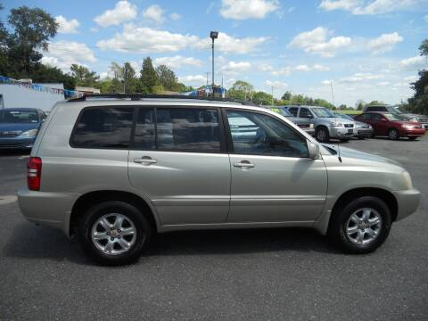2003 Toyota Highlander for sale at All Cars and Trucks in Buena NJ