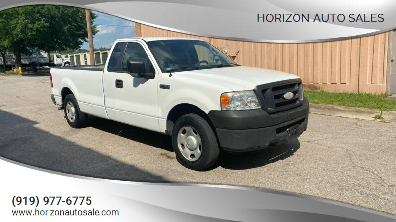 2007 Ford F-150 for sale at Horizon Auto Sales in Raleigh NC