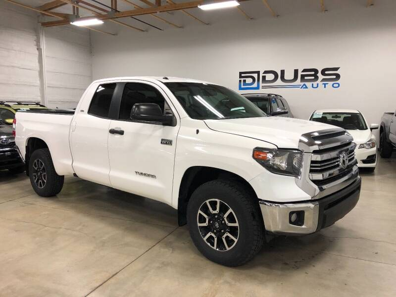 2015 Toyota Tundra for sale at DUBS AUTO LLC in Clearfield UT