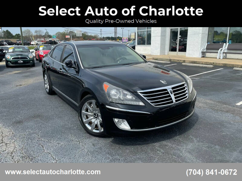 2013 Hyundai Equus for sale at Select Auto of Charlotte in Matthews NC