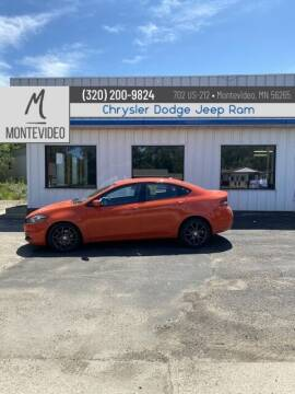 2015 Dodge Dart for sale at Montevideo Auto center in Montevideo MN