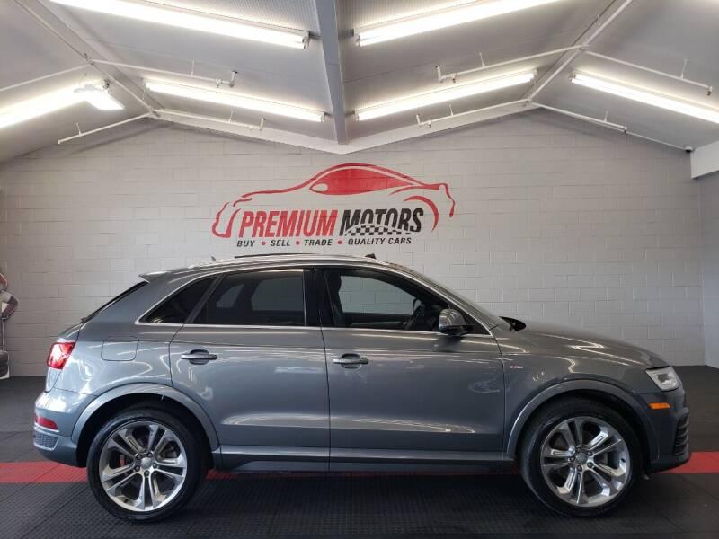 2016 Audi Q3 for sale at Premium Motors in Villa Park IL