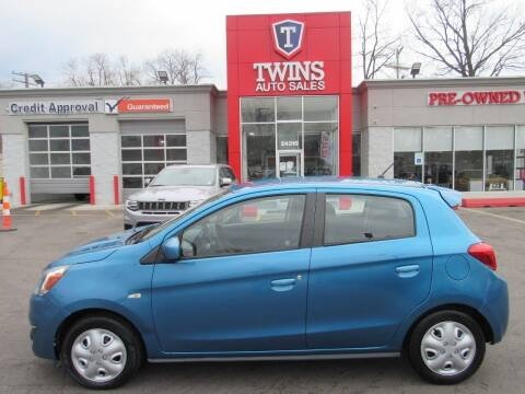 2017 Mitsubishi Mirage G4 for sale at Twins Auto Sales Inc in Detroit MI