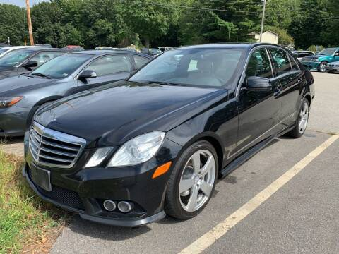 2010 Mercedes-Benz E-Class for sale at Official Auto Sales in Plaistow NH