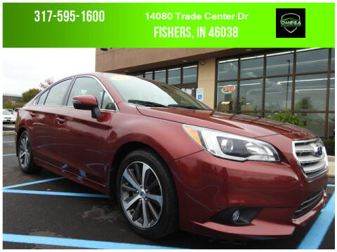 2017 Subaru Legacy for sale at Omega Autosports of Fishers in Fishers IN