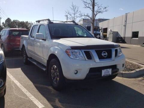 2014 Nissan Frontier for sale at EMPIRE LAKEWOOD NISSAN in Lakewood CO