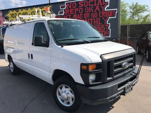 2010 Ford E-Series Cargo for sale at Rock Star Auto Sales in Las Vegas NV