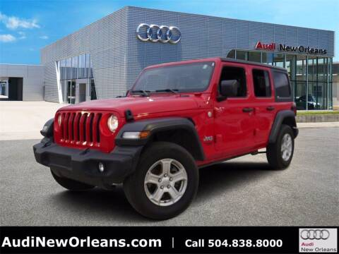 2020 Jeep Wrangler Unlimited for sale at Metairie Preowned Superstore in Metairie LA
