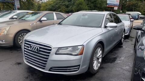 2012 Audi A8 L for sale at WOLF'S ELITE AUTOS in Wilmington DE