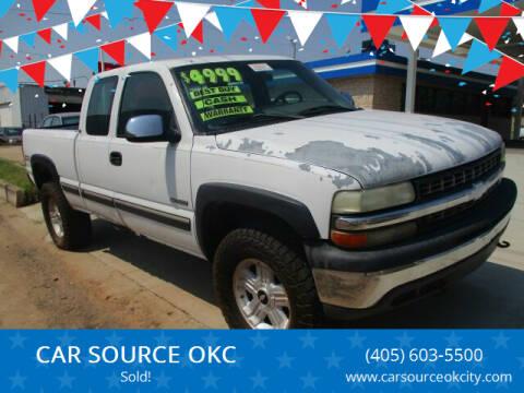 2000 Chevrolet Silverado 1500 for sale at CAR SOURCE OKC - CAR ONE in Oklahoma City OK