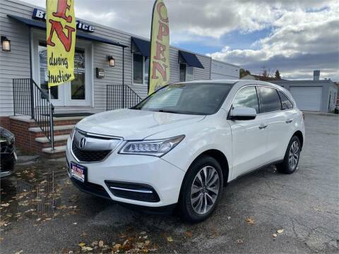 2016 Acura MDX for sale at Best Price Auto Sales in Methuen MA