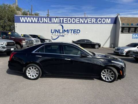 2014 Cadillac CTS for sale at Unlimited Auto Sales in Denver CO