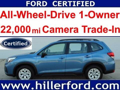 2019 Subaru Forester for sale at HILLER FORD INC in Franklin WI